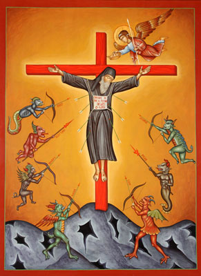 Monasticism-Icon-of-Crucified-Monk